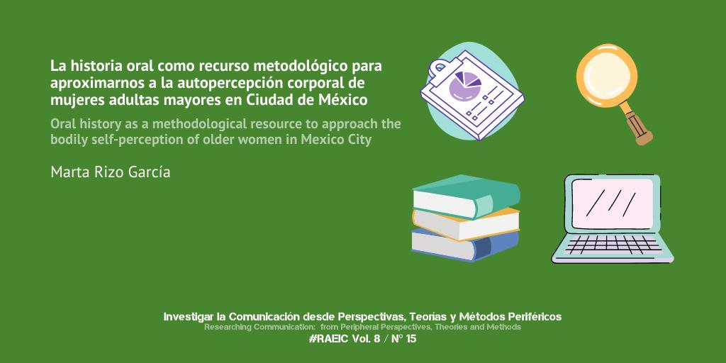 La historia oral como recurso metodológico para aproximarnos a la autopercepción corporal de mujeres adultas mayores en la Ciudad de México