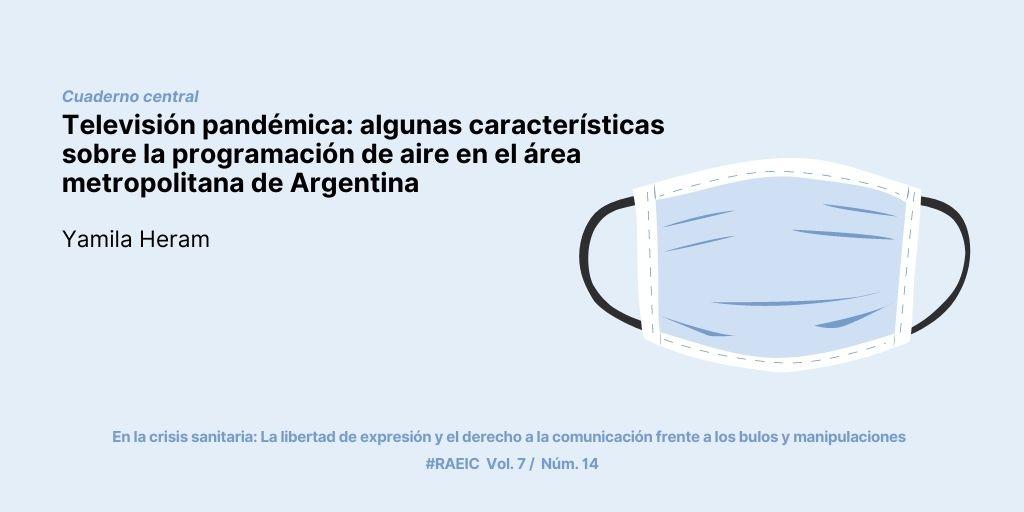 Televisión pandémica: algunas características sobre la programación de aire en el área metropolitana de Argentina