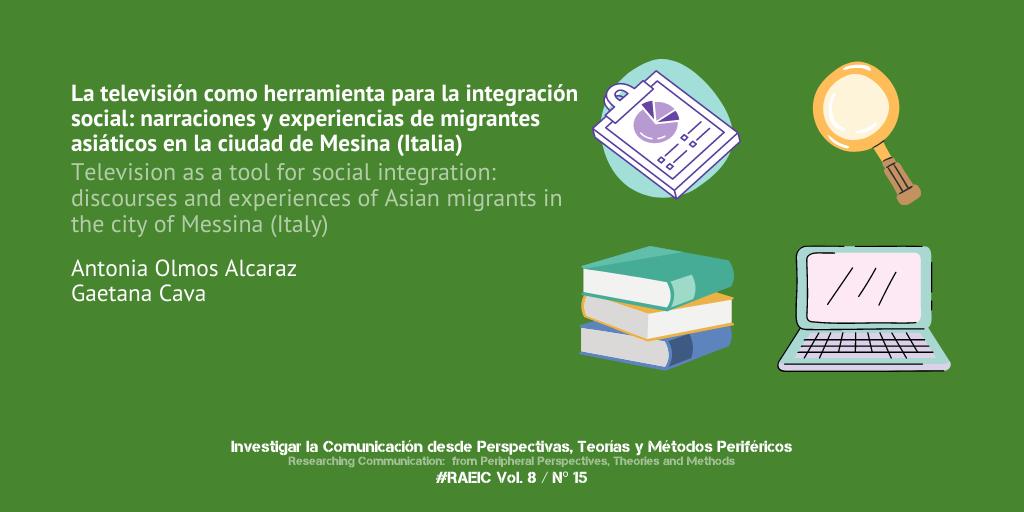 La televisión como herramienta para la integración social: narraciones y experiencias de migrantes asiáticos en la ciudad de Mesina (Italia)